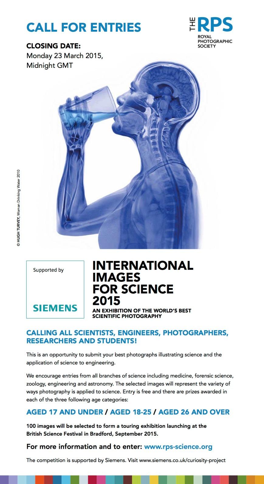 International Images for Science 2015 e-flyer